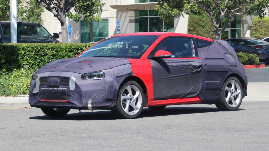 Photos espion Hyundai Veloster / Veloster Turbo (2018)