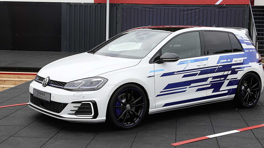 VW Golf GTE Concept Brings More Hybrid Muscle At Worthersee
