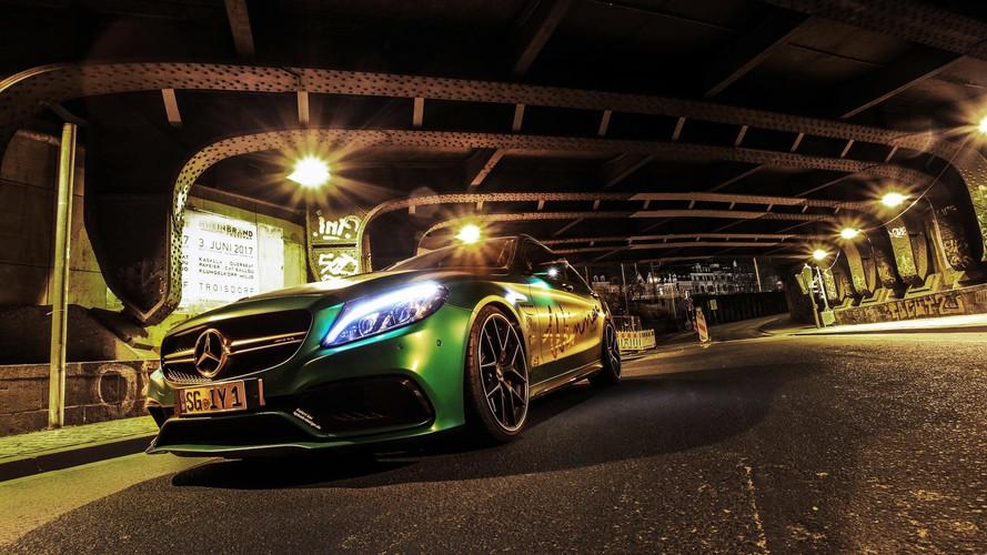 Cette Mercedes-AMG C 63 S développe plus de 810 ch