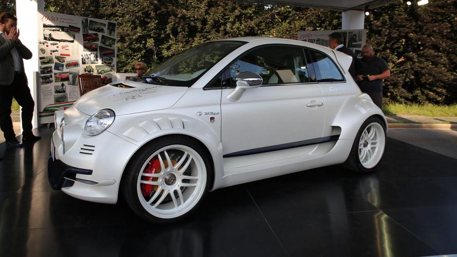 Giannini imzalı Fiat 500 tam 350 beygir gücünde