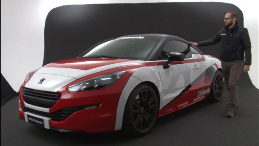 Peugeot RCZ R Bimota, la supermoto incontra l'auto [VIDEO]