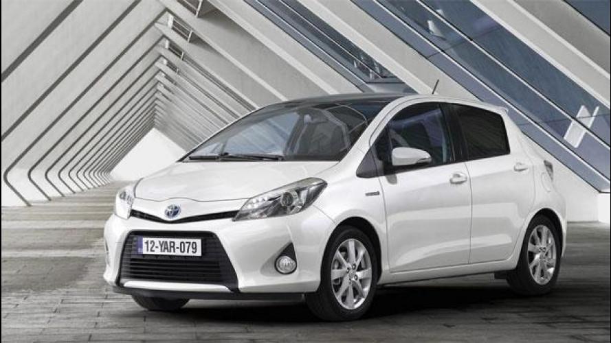 Toyota Yaris ibrida, prezzi da 17.500 euro