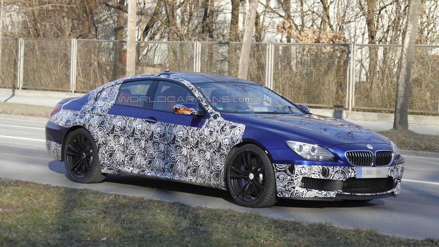 2013 BMW M6 GranCoupe first spy shots