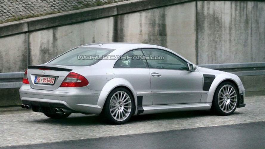 SPY PHOTOS: Mercedes CLK 63 AMG Black Series