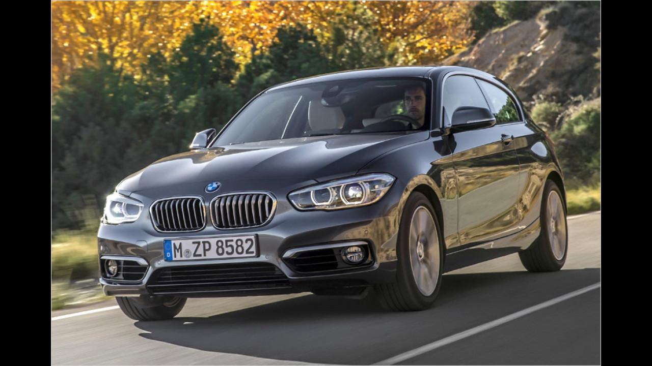Platz 9: BMW 116d (ab 3/2015)