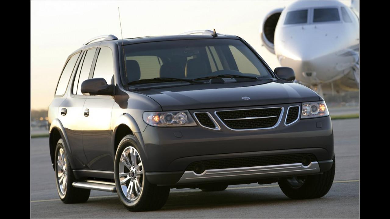 Der 9-7X war baugleich mit dem Chevrolet Trailblazer und dem GMC Envoy