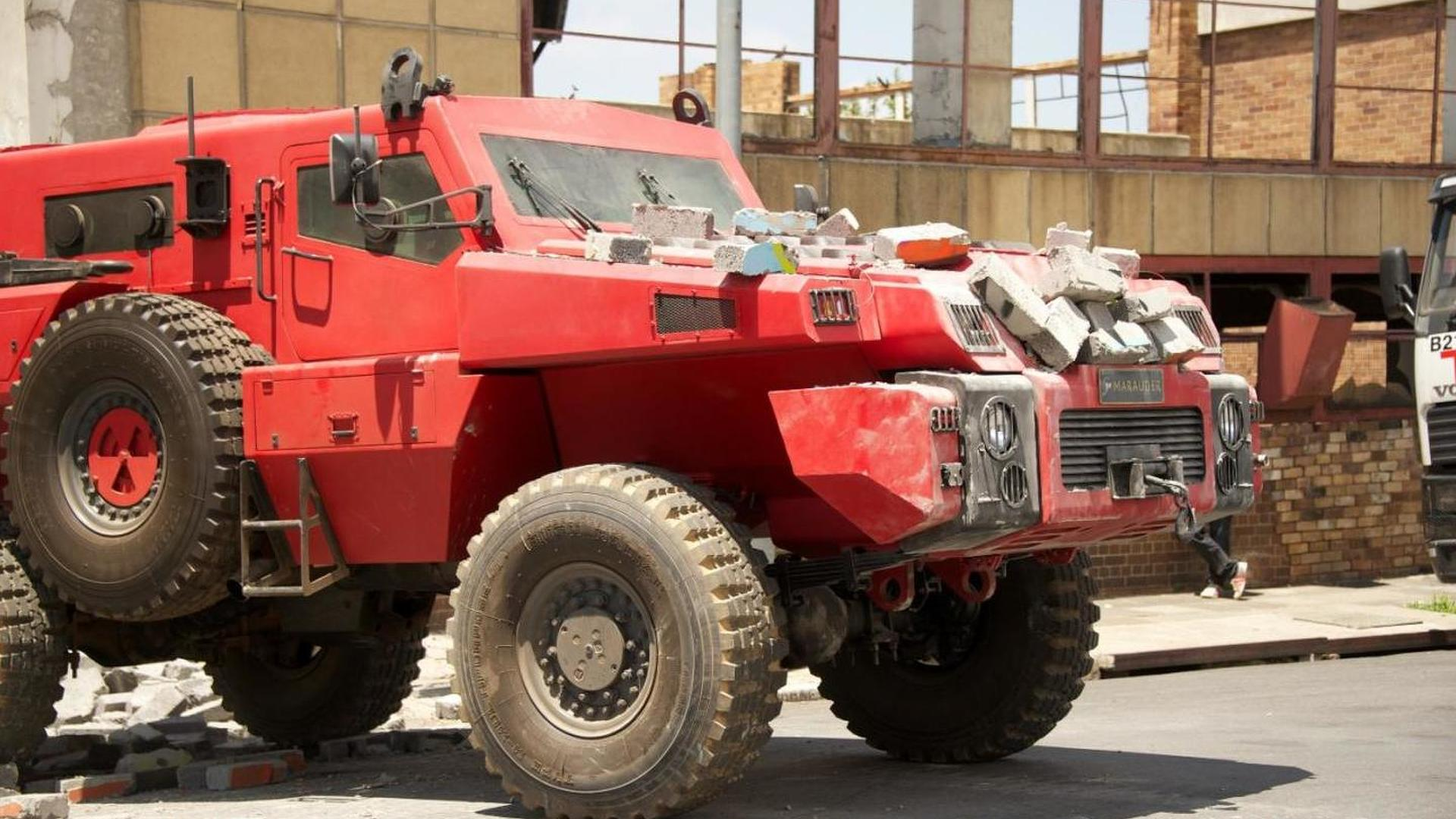 Marauder armored vehicle featured in Top Gear [video]