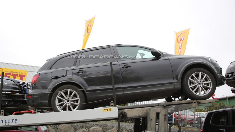 Next generation Volkswagen Touareg test mule spied for the first time