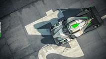 Sebastien Loeb LMP3 race car