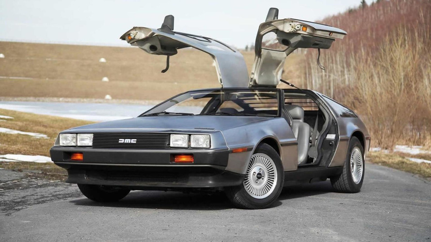 DeLorean owner arrested for actually going 88 mph
