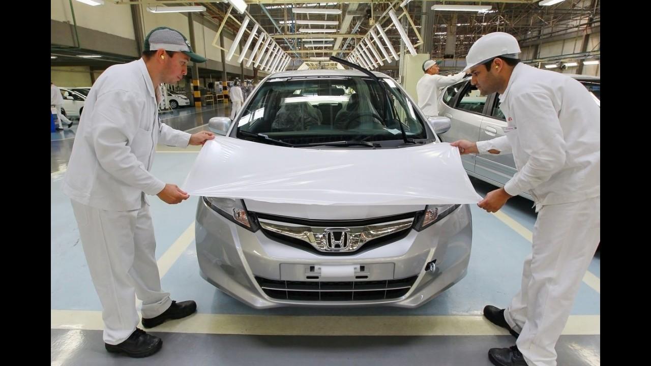 Conheça um pouco da fábrica da Honda Automóveis do Brasil