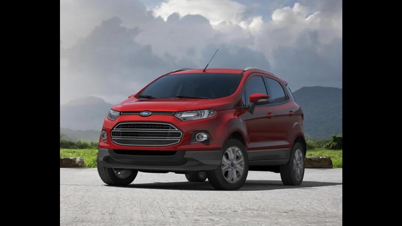 Fotos Oficias: Novo Ford Ecosport de produção é revelado - Veja também o interior