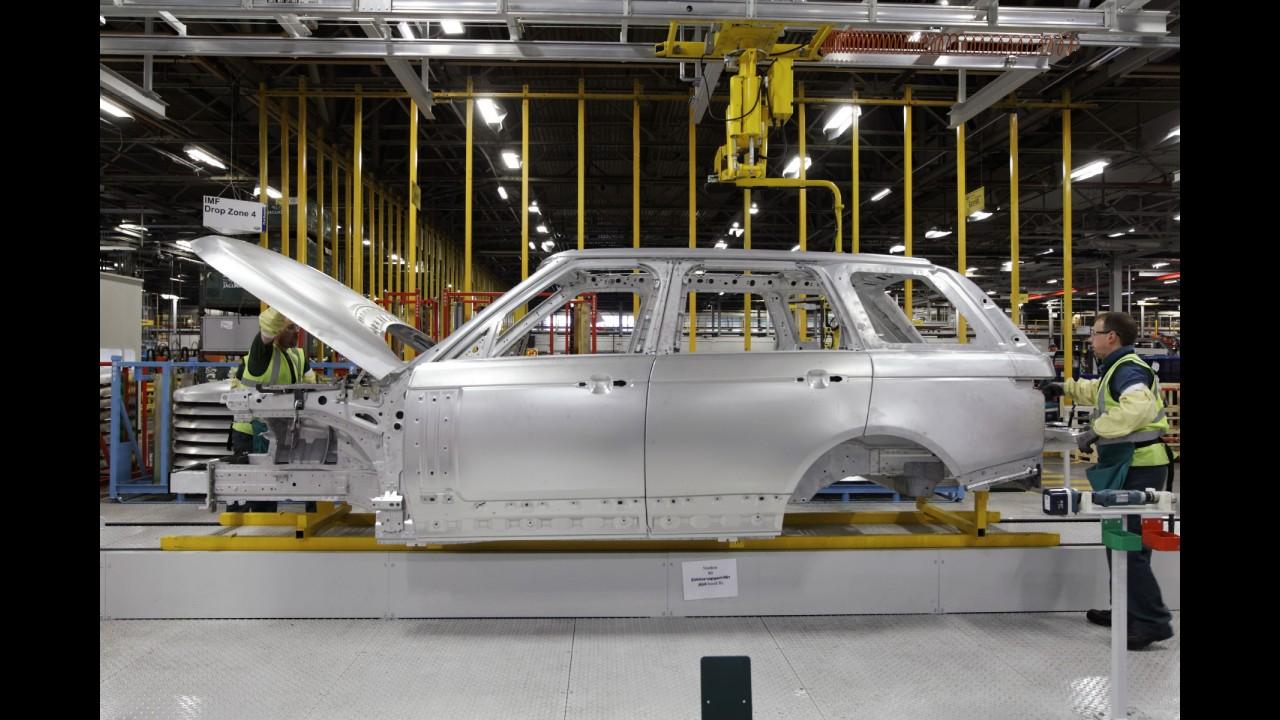 Jaguar usará carrocerias de alumínio nos próximos lançamentos