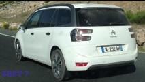 Flagra: fotos dão pistas sobre novo Citroën C4 Grand Picasso