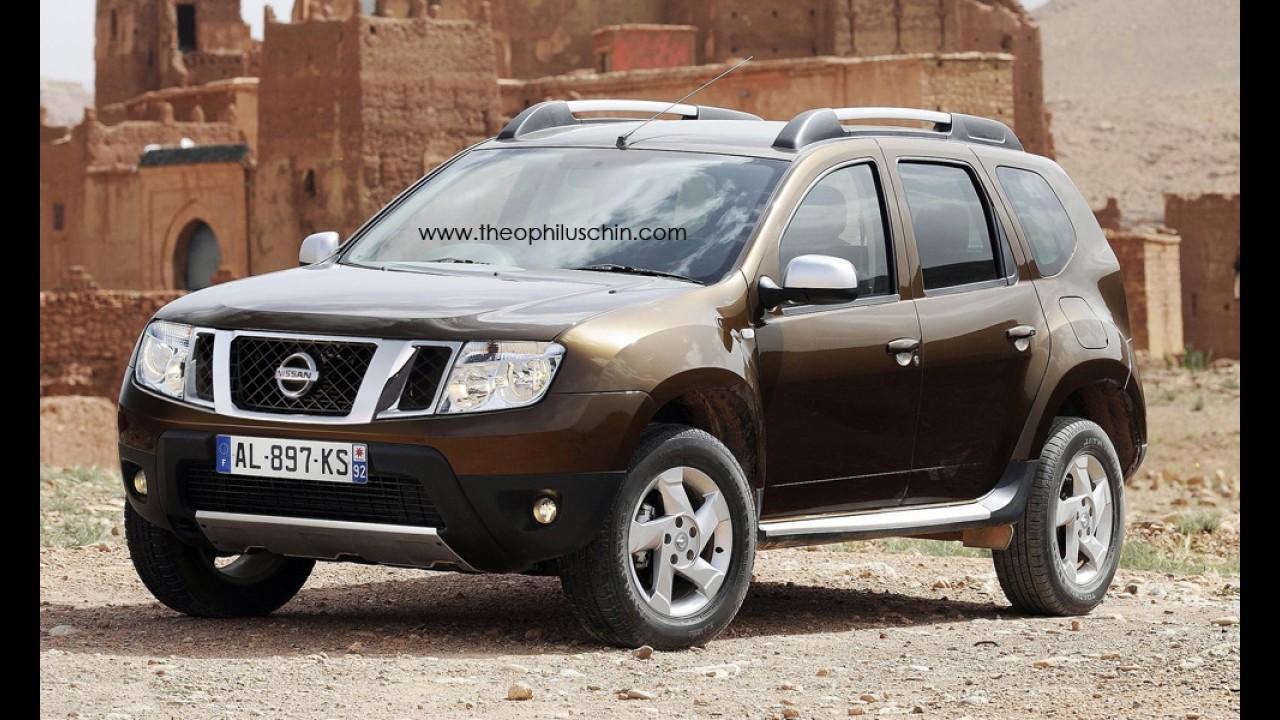 Nissan lançará crossover derivado do Renault Duster na Índia em 2013