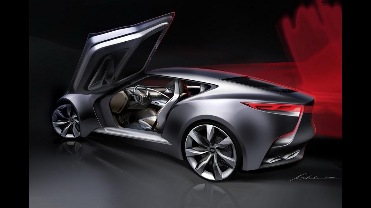 Hyundai HND-9 Concept antecipa nova geração do Genesis Coupé