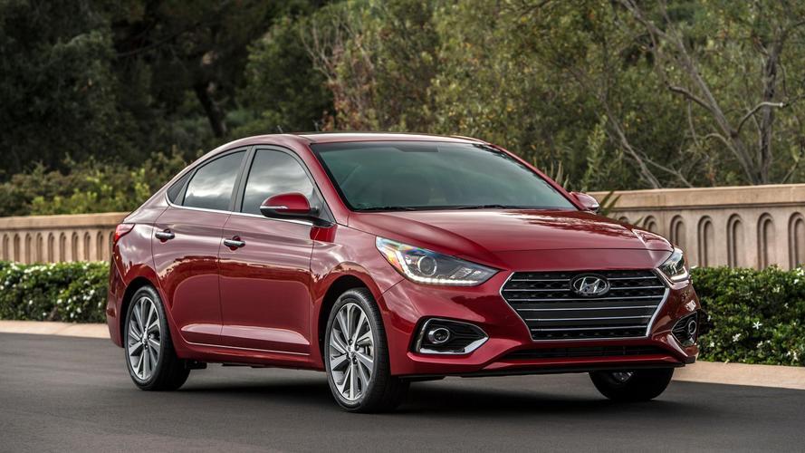 U.S.-Spec 2018 Hyundai Accent Gains Style, Loses Hatch