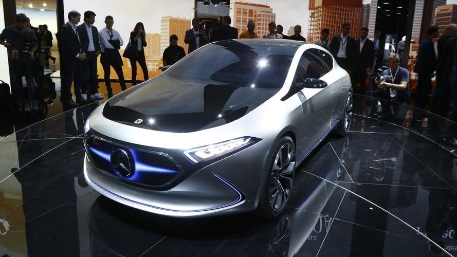 Mercedes-Benz EQ A Concept antecipa visual da nova geração do Classe A