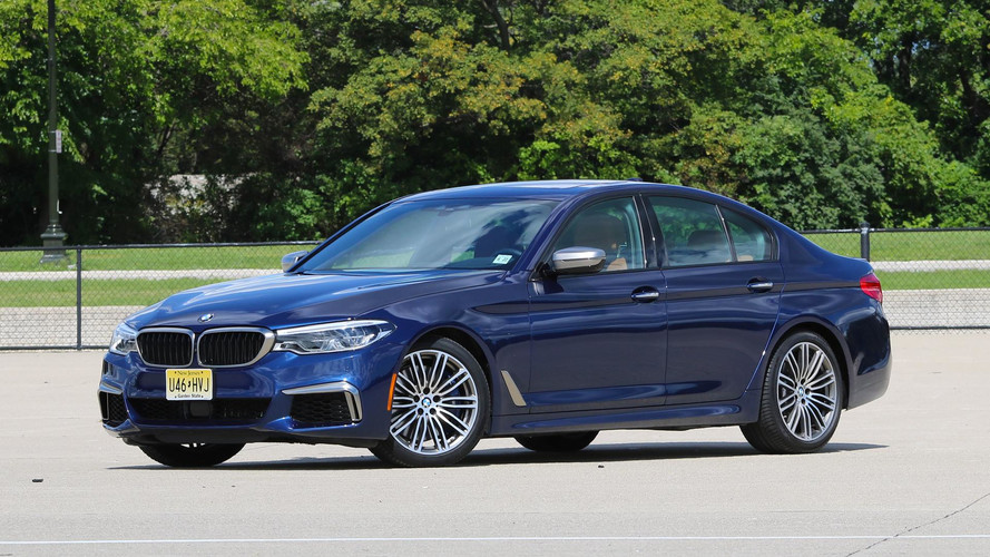 2018 bmw m550i review m5 says what. Black Bedroom Furniture Sets. Home Design Ideas