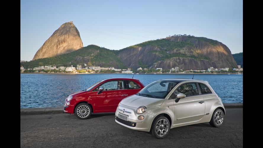 Le Fiat 500 made in Messico saranno esportate in Cina