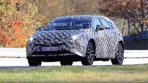 Next-Gen Toyota Prius V Prius+ spy photos