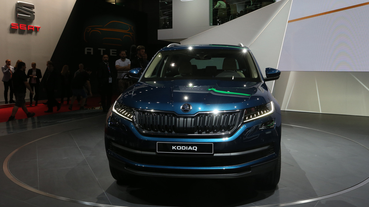 Innovative Skoda Kodiaq SUV Debuts In Paris