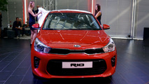 2017 Kia Rio reveal in Frankfurt