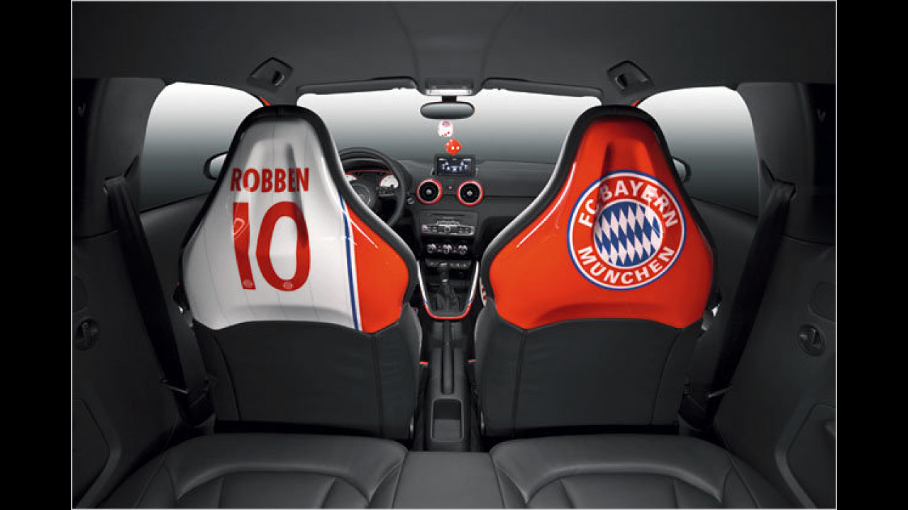 Audi A1 ,Arjen Robben