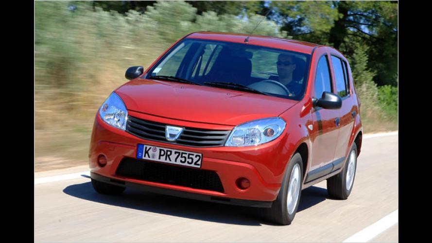 Dacia ergänzt sein Motorenangebot für den Sandero