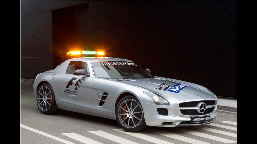 Schnelle Sicherheit für die Formel 1