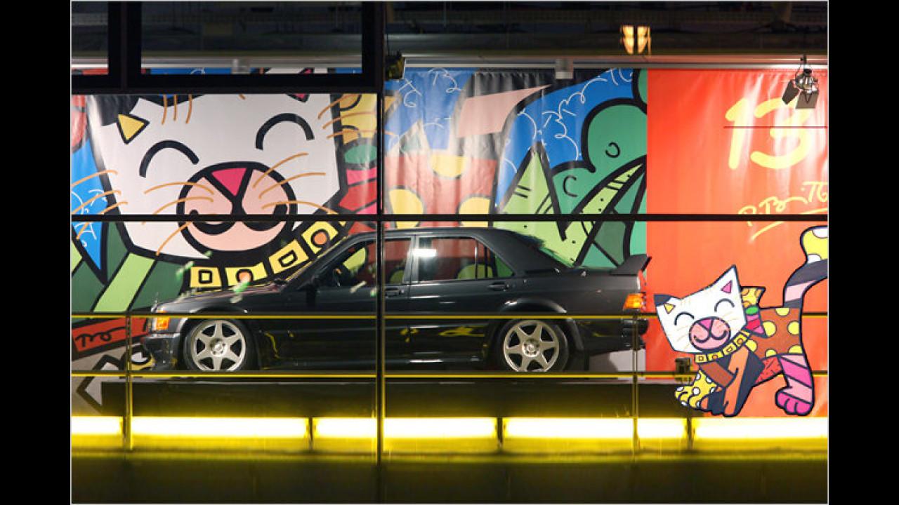 13. Dezember: Mercedes 190 E 2.5-16 EVO 1, mit Romero Brittos ,Little Cat