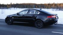 Jaguar entry-level sedan spy photo  / Automedia