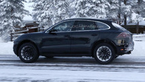 2014 Porsche Macan spy photo 16.1.2013 / Automedia