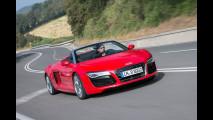 Audi R8, le cugine insegnano