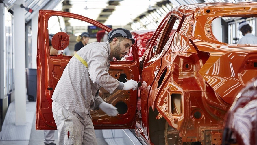 Nissan Micra production Flins