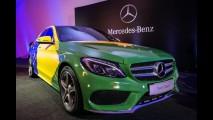 Mercedes C180 ganha motor 1.6 turboflex no Brasil