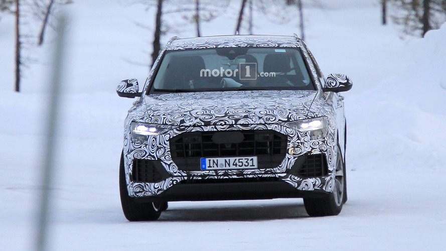 2018 Audi Q8 spy photos
