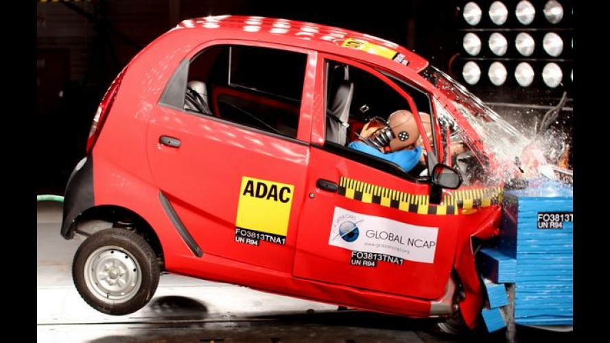 Global NCAP quer erradicar carros 'zero estrela' do mercado até 2020