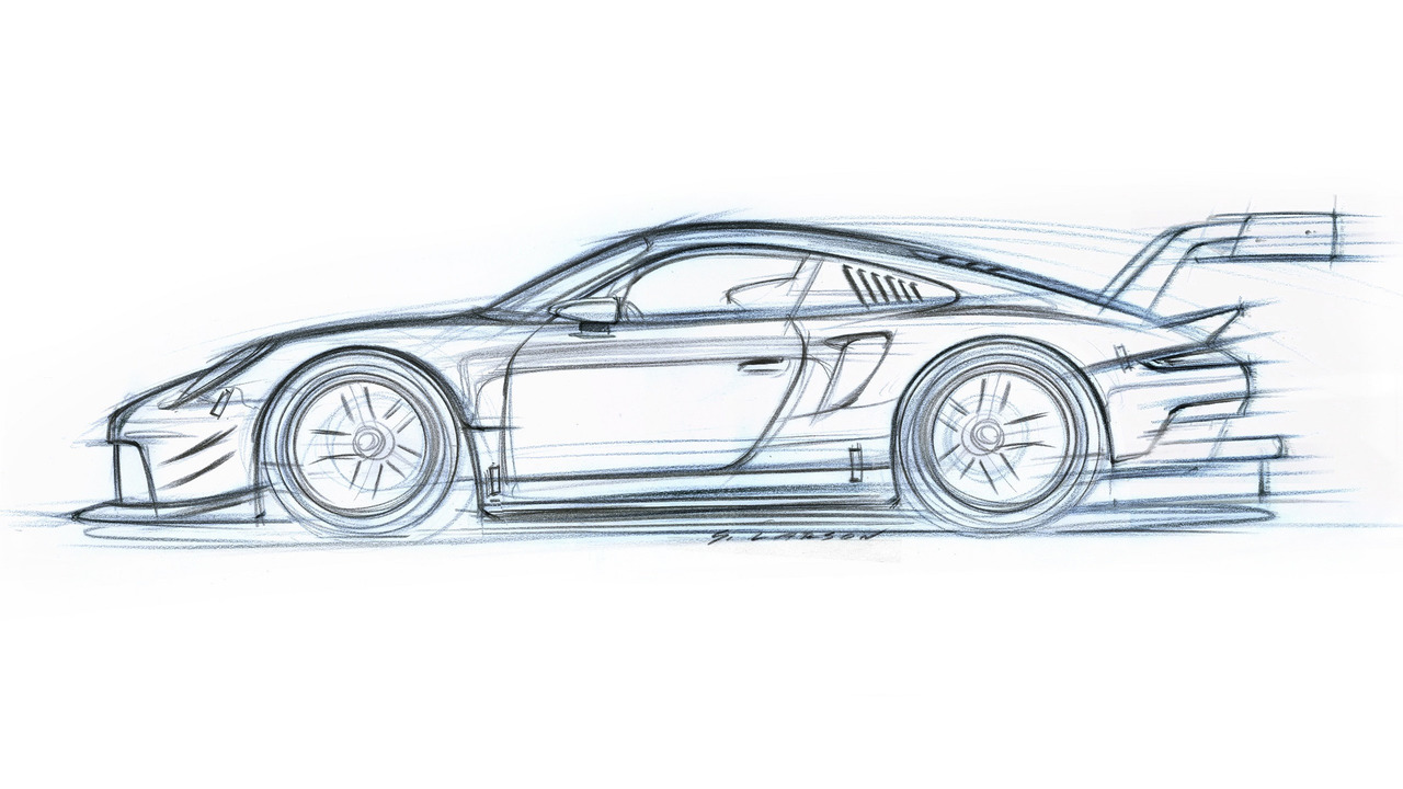 Porsche 911 RSR teaser image