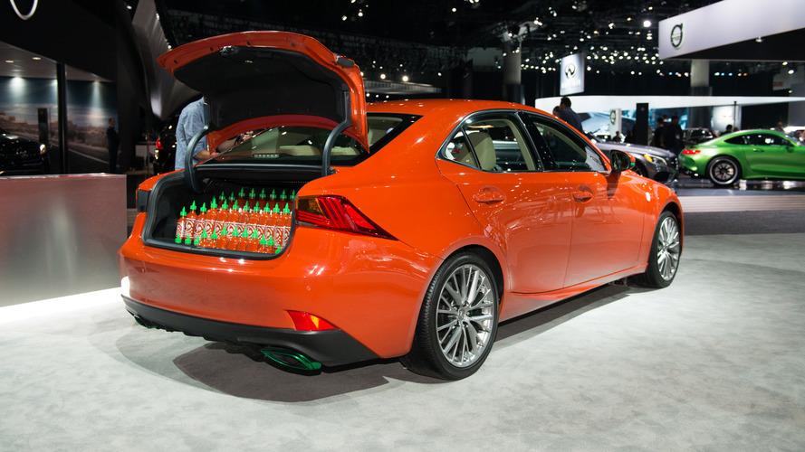 Okay, the Sriracha Lexus is actually pretty cool