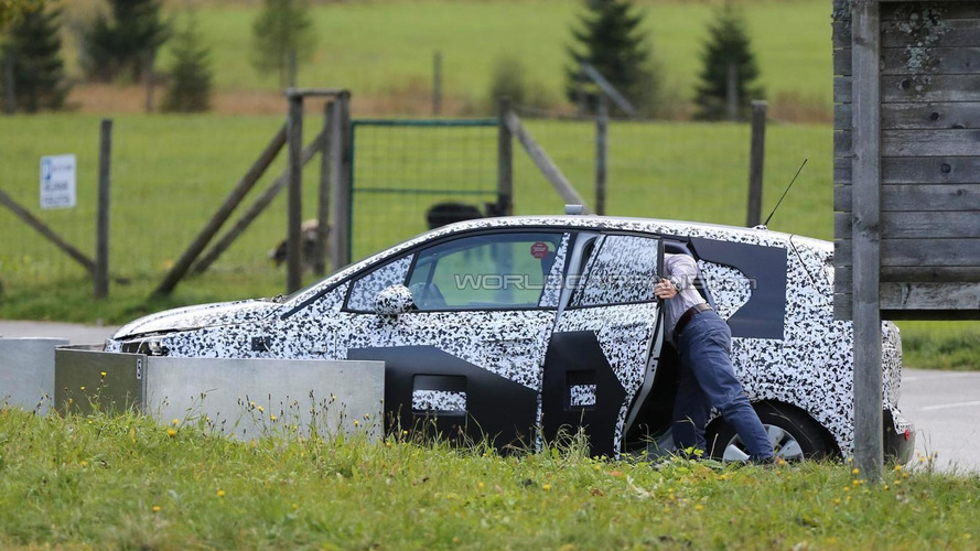 2017 Opel Meriva spied up close with conventional rear door open