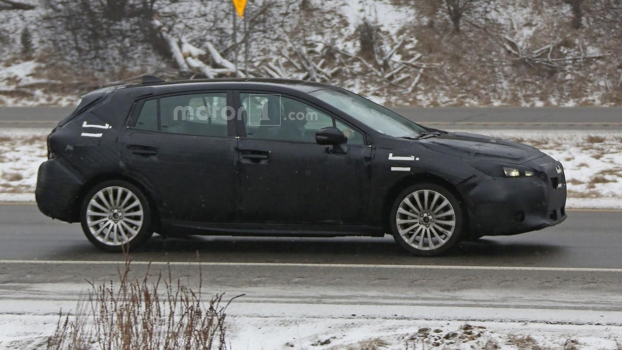 2017 Subaru Impreza hatchback spy photo