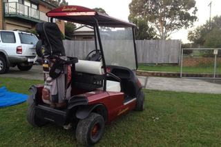 Man Told to Sell Lamborghini Golf Cart or Lose Wife