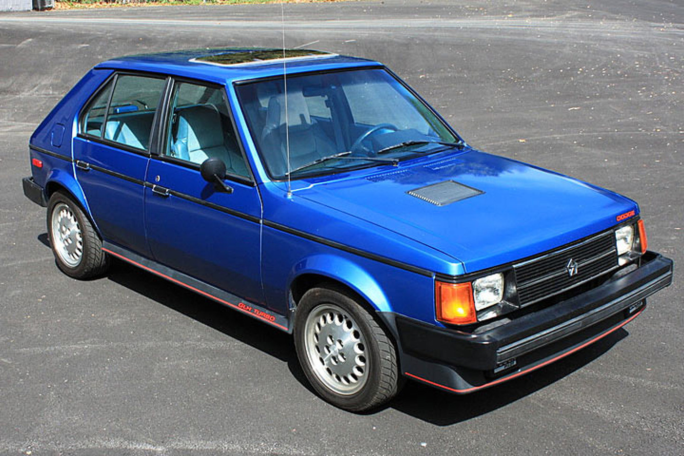 The Dodge Omni GLH Turbo is a Shelby by Design