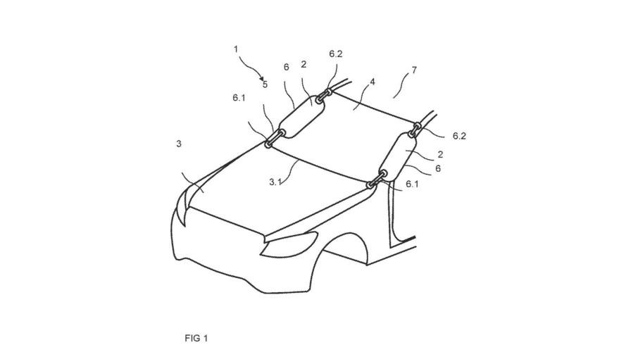 Mercedes, dış hava yastığı patenti aldı