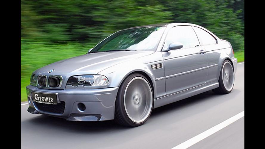 G-Power steigert den BMW M3 CSL E46 auf über 500 PS