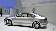 VW New Compact Coupe Concept live in Detroit, NAIAS 11.01.2010