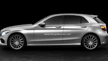 2014 Mercedes-Benz C-Class hatchback render