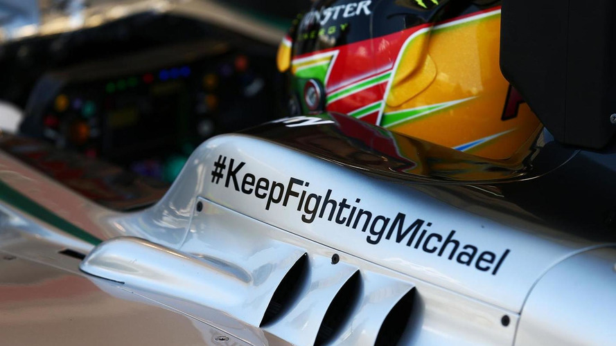 More 'small improvements' in Schumacher condition - manager