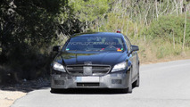 2015 Mercedes-Benz CLS63 AMG facelift spy photo